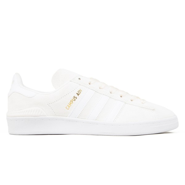 adidas Skateboarding Campus ADV (Supplier Colour/Footwear White/Gold Metallic)