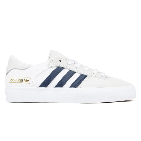 adidas Skateboarding Matchbreak Super (Crystal White/Collegiate Navy/Footwear White)