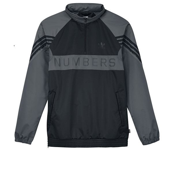 adidas Skateboarding x Numbers Track Jacket (Black/Grey Five/Carbon)