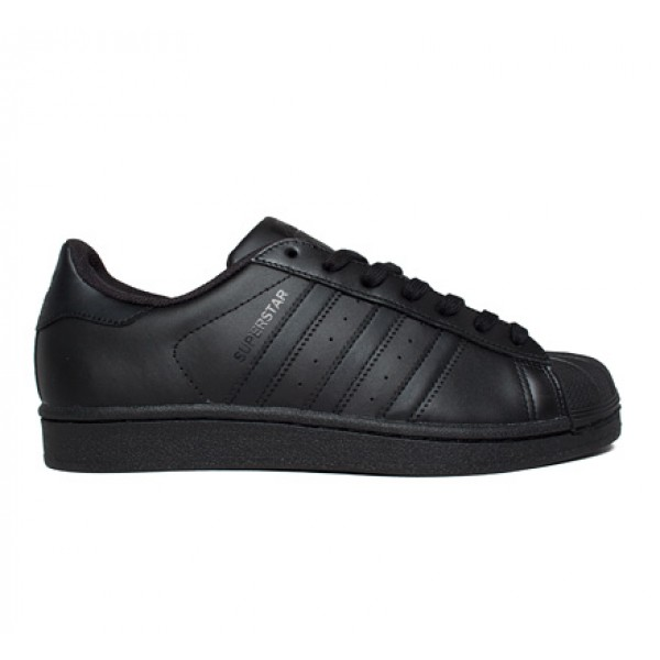Adidas Superstar Foundation (Core Black/Core Black/Core Black)