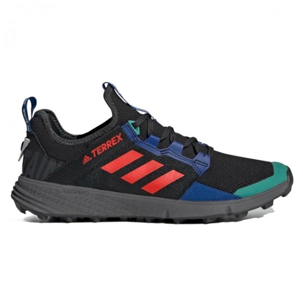 adidas TERREX by White Mountaineering Agravic Speed LD (Core Black/Active Orange/Collegiate Royal)