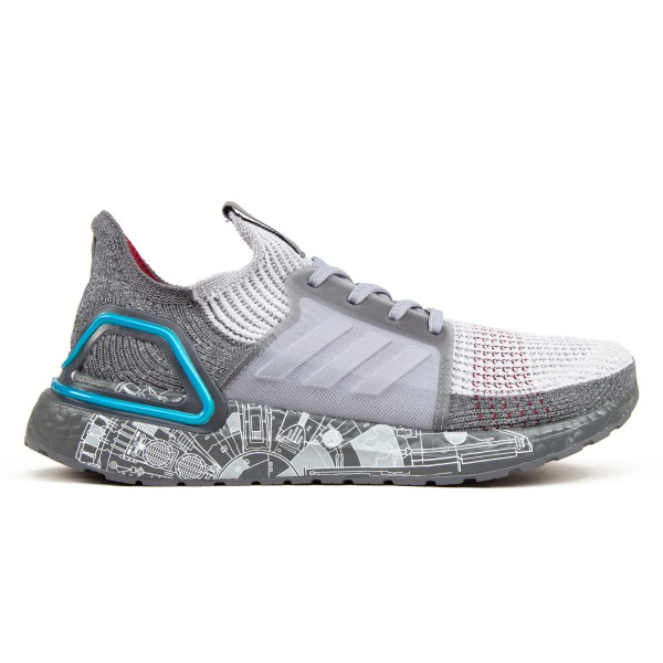adidas x Star Wars UltraBOOST 19 'Millennium Falcon' (Grey/Grey Two/Bright Cyan)
