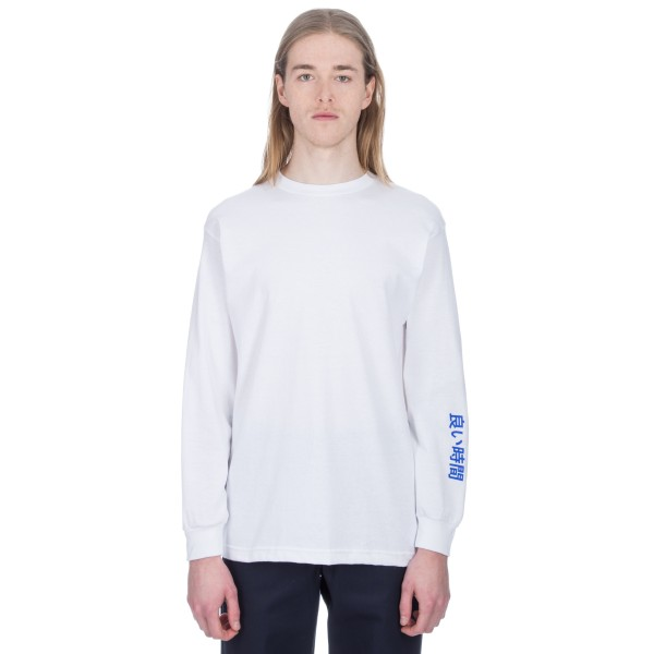 Alltimers Block Long Sleeve T-Shirt (White)