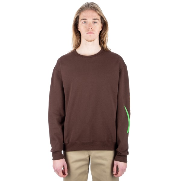 Alltimers Estate Crew Neck Sweatshirt (Brown)