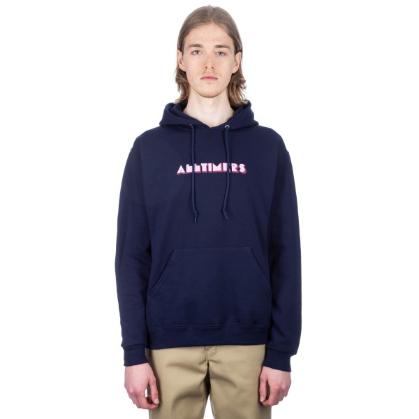 Alltimers Euro Pullover Hooded Sweatshirt (Navy)