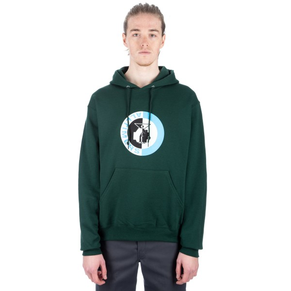 Alltimers Fist Pullover Hooded Sweatshirt (Green)