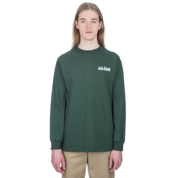Alltimers Late Long Sleeve T-Shirt (Forest Green)