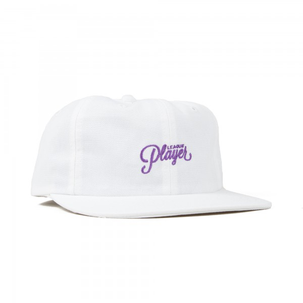 Alltimers League Player Cap (White)