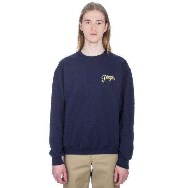 Alltimers League Player Crew Neck Sweatshirt (Navy)