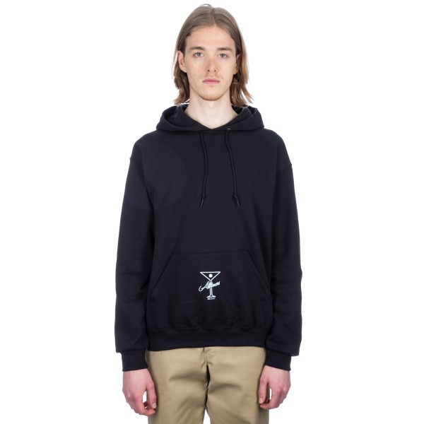 Alltimers League Player Pullover Hooded Sweatshirt (Black)