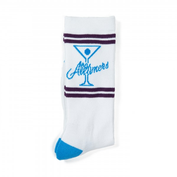 Alltimers League Player Socks (Blue/Purple/White)