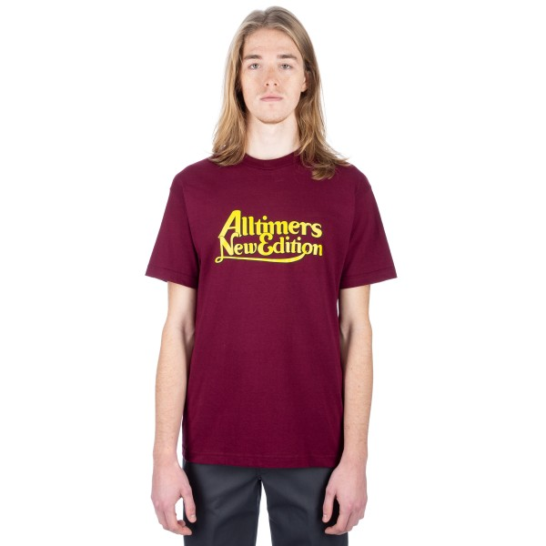 Alltimers New Edition T-Shirt (Burgundy)