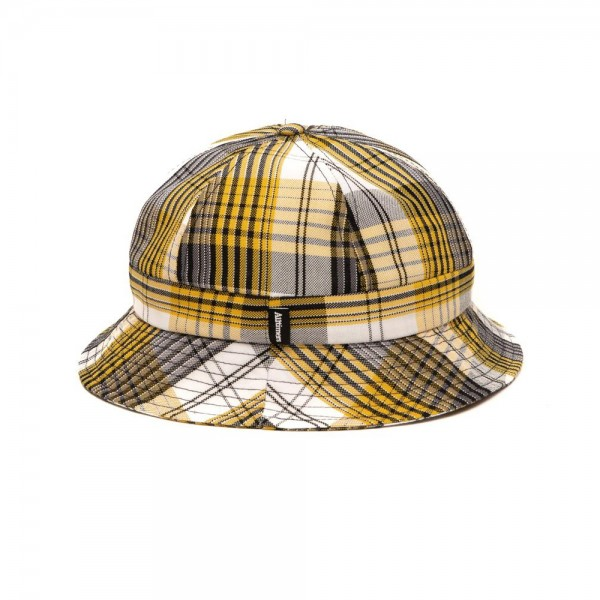 Alltimers Plaid Bucket Hat (White)