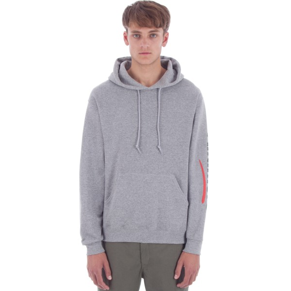 Alltimers Sears Sleeve Pullover Hooded Sweatshirt (Grey)