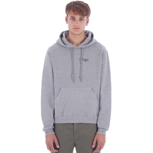 Alltimers Watercolour Logo Hooded Sweatshirt (Grey)