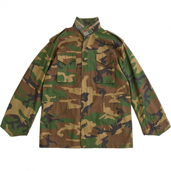 Alpha Industries M-65 Field Jacket (Woodland Camo)