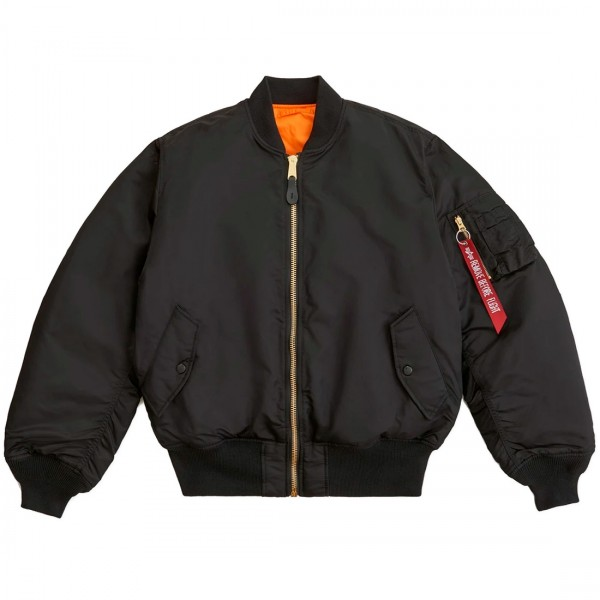 Alpha Industries MA-1 Bomber Jacket (Black)