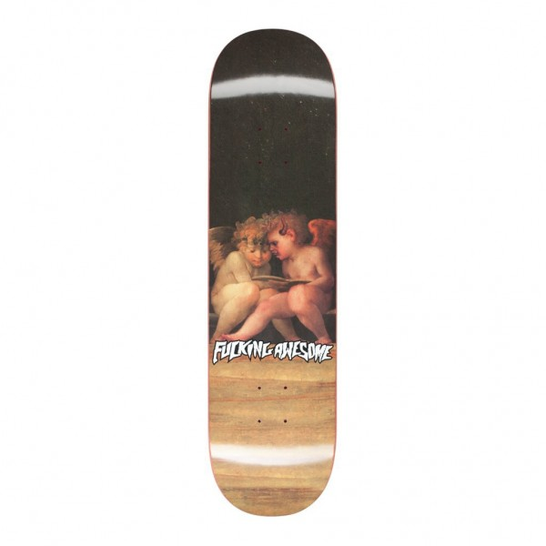 Fucking Awesome Jason Dill Angel With Demonic Angle Skateboard Deck 8.25""