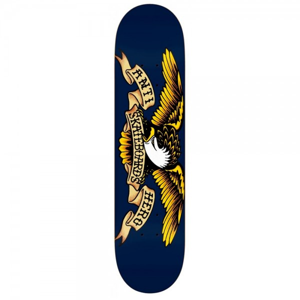 "Anti Hero Classic Eagle XLG Skateboard Deck 8.5"" (Blue)"