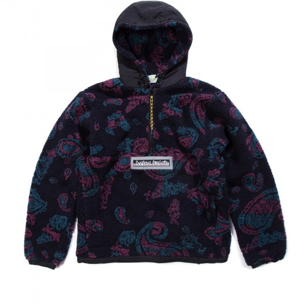 Aries Paisley Half Zip Fleece (Paisley)