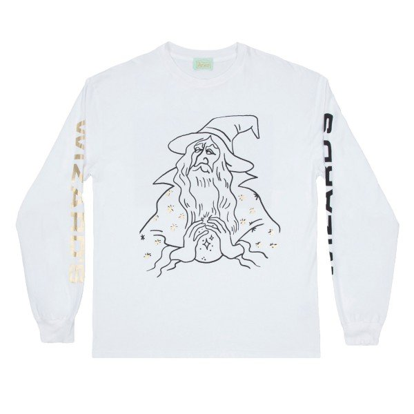 Aries Wizards Long Sleeve T-Shirt (White)