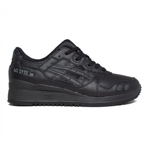 Asics Gel-Lyte III 'Monochrome Pack' (Black/Black)