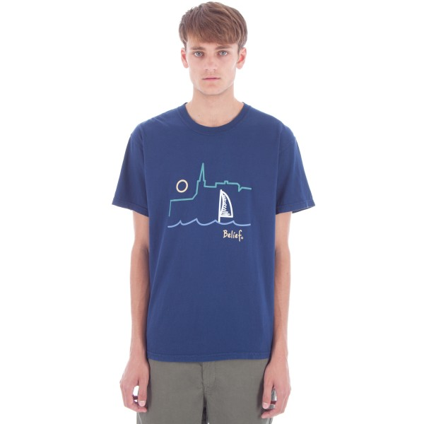 Belief Yacht T-Shirt (Navy)