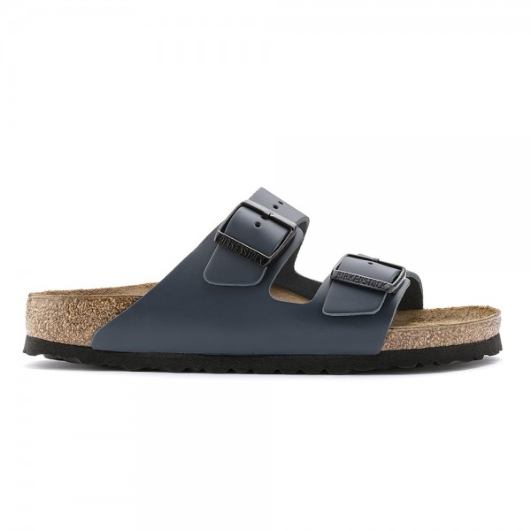 Birkenstock Arizona Regular Fit (Blue Natural Leather)
