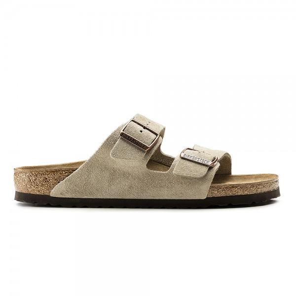 Birkenstock Arizona Regular Fit (Taupe Seude Leather)