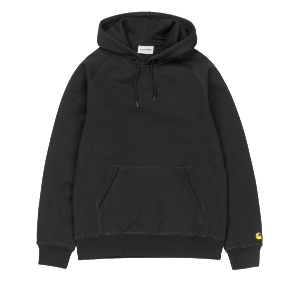 Carhartt Chase Pullover Hooded Sweatshirt (Black/Gold)