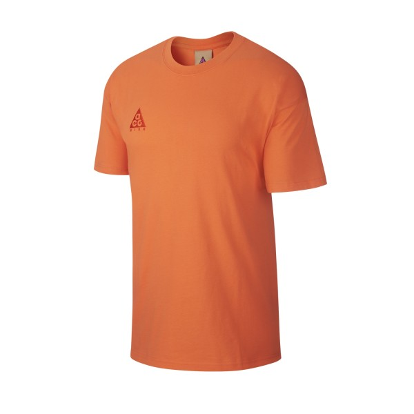 Nike ACG NRG Logo T-Shirt (Turf Orange/Habanero Red)
