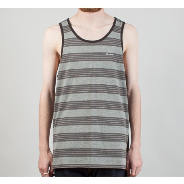 Brixton Abram Tank Top (Heather Grey)