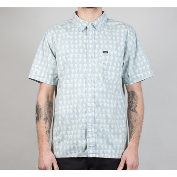Brixton Cadet Short Sleeve Shirt (Navy)