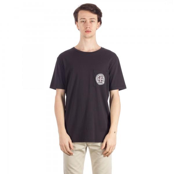 Brixton Fillmore Pocket T-Shirt (Washed Black)