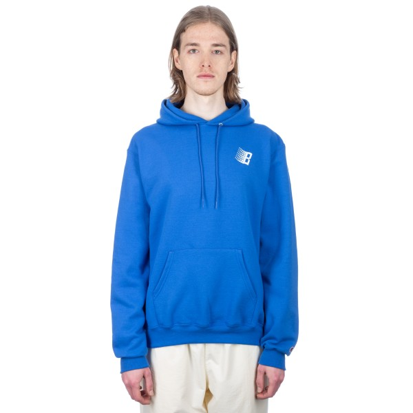 Bronze 56k Classic Logo Pullover Hooded Sweatshirt (Royal)