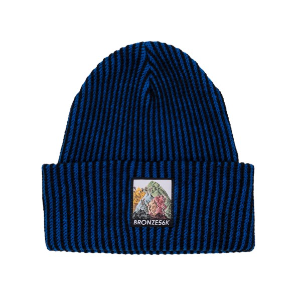 Bronze 56k Mountain Beanie (Blue)