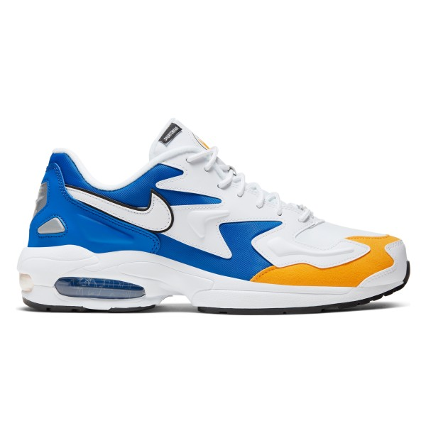 Nike Air Max2 Light Premium 'Vegeta' (White/White-University Gold-Game Royal)
