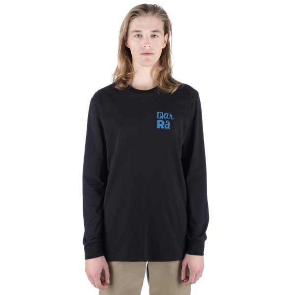 by Parra Hanging Long Sleeve T-Shirt (Black)