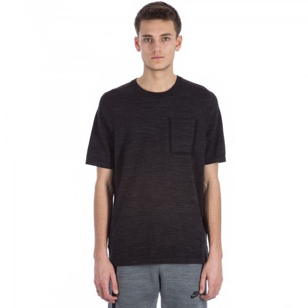 Nike Tech Knit Pocket T-shirt (Black/Anthracite)