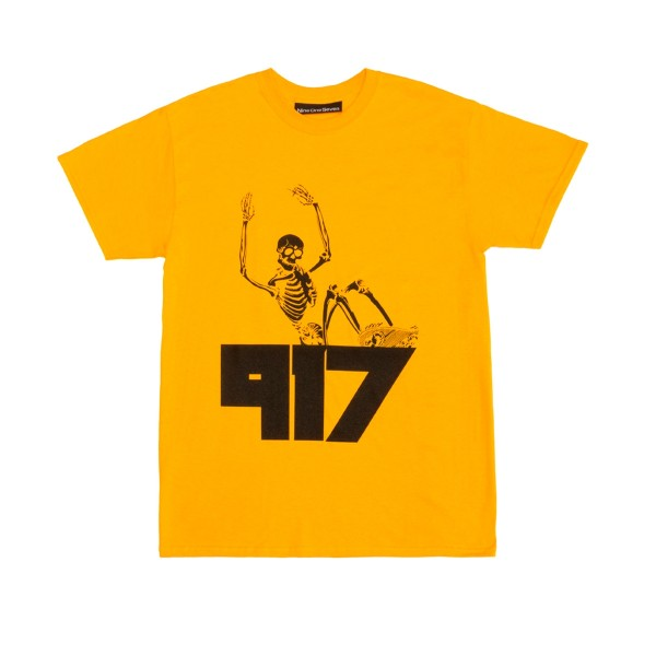 Call Me 917 Jody T-Shirt (Yellow)