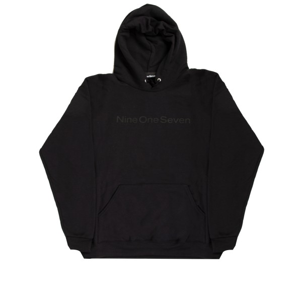 Call Me 917 Logotype Pullover Hooded Sweatshirt (Black)