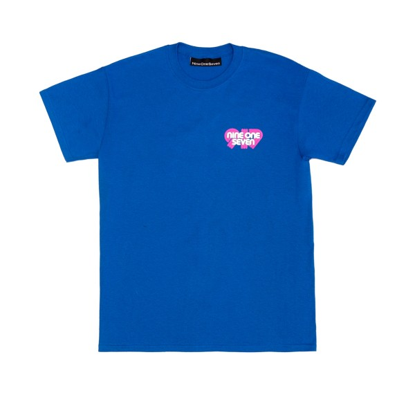Call Me 917 Swiss Alps T-Shirt (Blue)