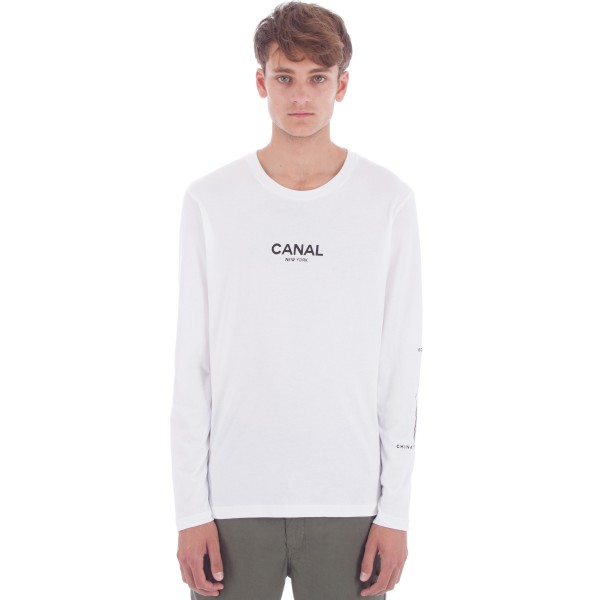 Canal Film Festival Long Sleeve T-Shirt (White)