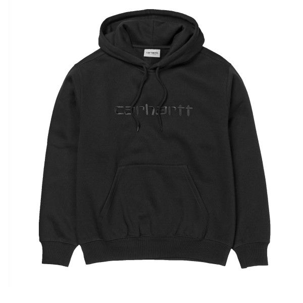 Carhartt Pullover Hooded Sweatshirt (Black/Black)