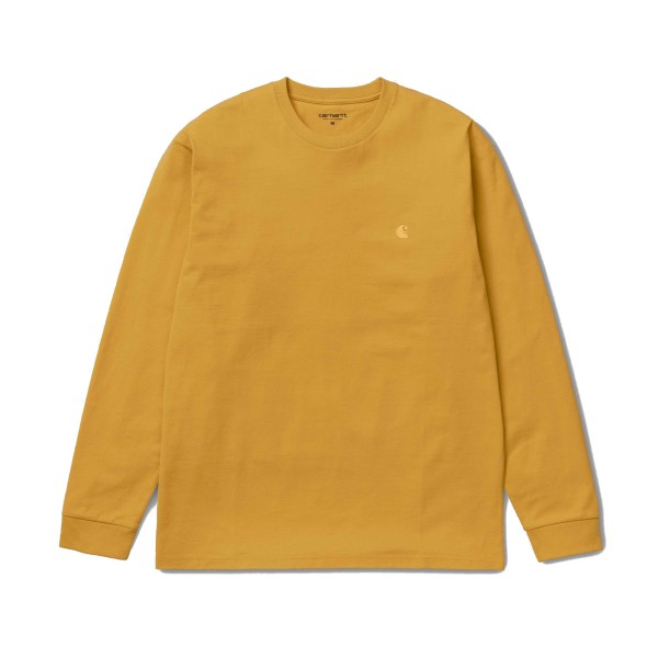 Carhartt Chase Long Sleeve T-Shirt (Colza/Gold)
