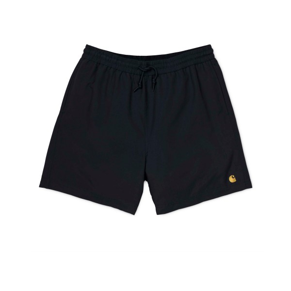 Carhartt Chase Swim Trunks (Black/Gold)