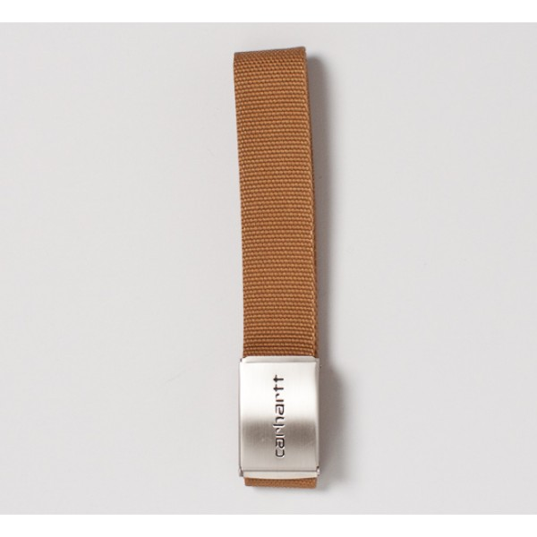Carhartt Chrome Clip Belt (Hamilton Brown)