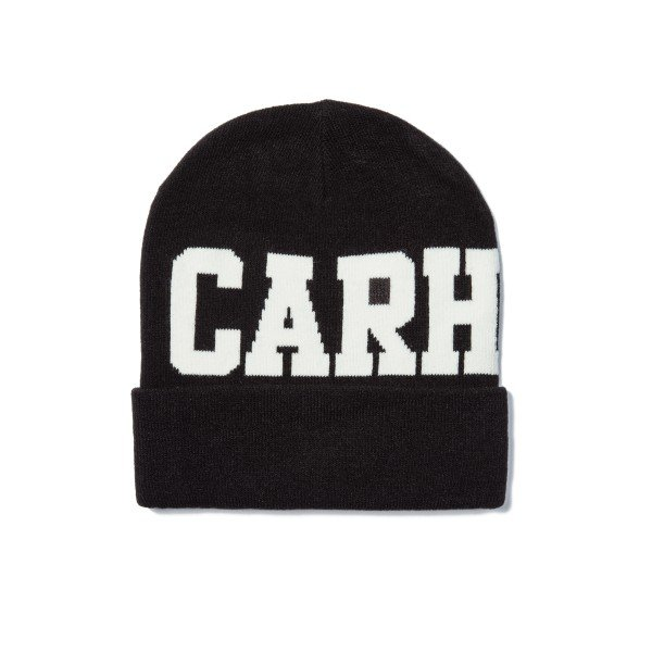 Carhartt College Beanie (Black/Snow)