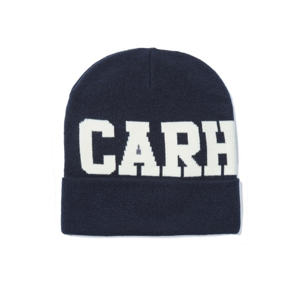 Carhartt College Beanie (Navy/Snow)