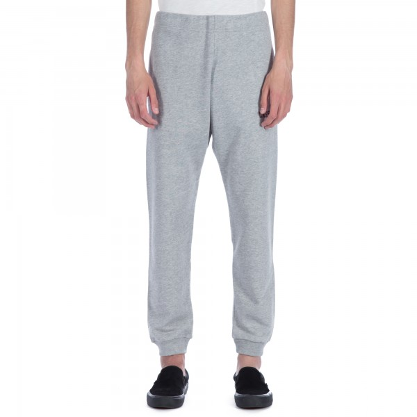 Carhartt College Sweat Pant (Heather Grey/Cordovan)
